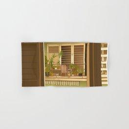 Balcony View in Cuba Hand & Bath Towel