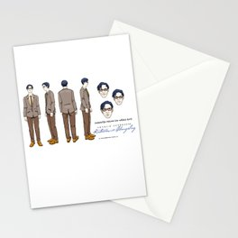 Natalie Close Character Design II Stationery Cards
