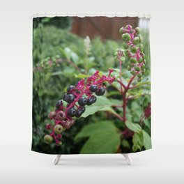 Pretty Deadly-Pokeweed DPG150828a Shower Curtain
