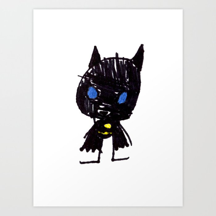 Superhero 1 Art Print