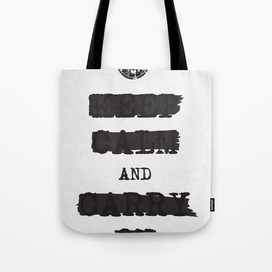 redacted. Tote Bag