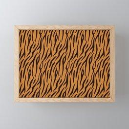 Tiger Stripes Wild Ainmal Print Framed Mini Art Print