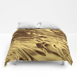 Gold Silk Comforters