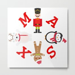 XMAS Metal Print