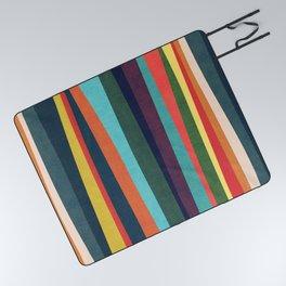 Mid-century zebra Picnic Blanket