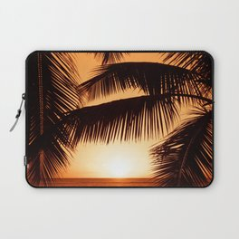 Perfect Palm Sunset (Color) Laptop Sleeve