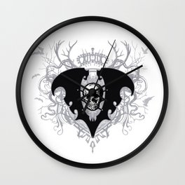 The Lair of Voltaire Crest - Winter Palace Wall Clock