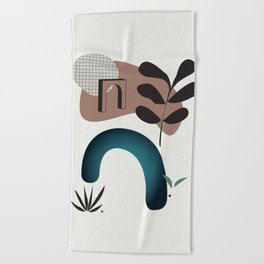 Shape study #8 - Synthesis Collection Beach Towel