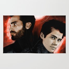 Moonlight Sterek Rug