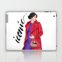 ICONIC MEGHAN by Silvana Arias Laptop & iPad Skin
