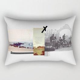 A Tough War Rectangular Pillow