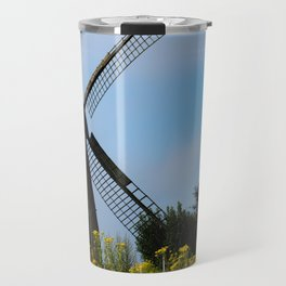 North German windmill from old time Travel Mug