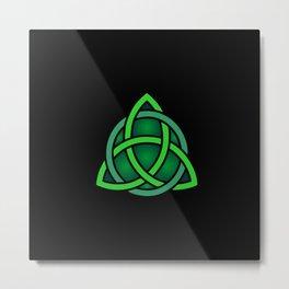 celtc knot symbol Metal Print