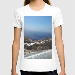 Aegean Sky and Sea Blue T-shirt