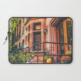 New York City Autumn Pumpkin Laptop Sleeve