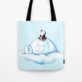 Home Sweet Igloo (South Pole) Tote Bag
