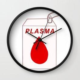 Plasma carton Wall Clock
