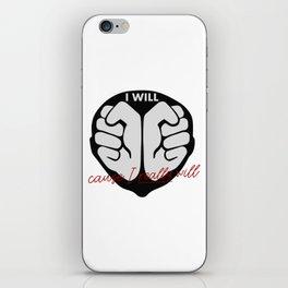 Willpower - determination iPhone Skin