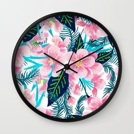 Floral Gift Wall Clock