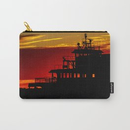 Staten Island Ferry Silhouette Carry-All Pouch