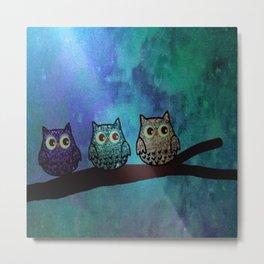 owl-44 Metal Print