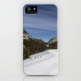 Carol Highsmith - Snow Covered Road iPhone Case