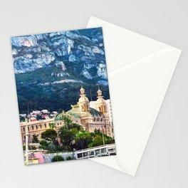 Monte Carlo Casino and Marina Stationery Cards