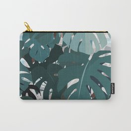 leaves+terrazzo Carry-All Pouch