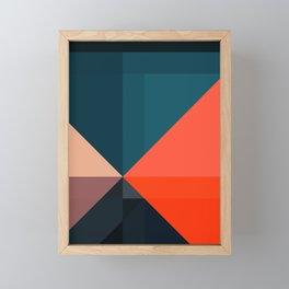 Geometric 1713 Framed Mini Art Print
