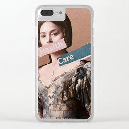 Health Care for all. Clear iPhone Case
