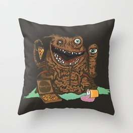 Terror Vision Throw Pillow