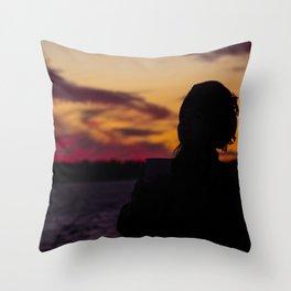 BEDOUIN SUNSET III Throw Pillow