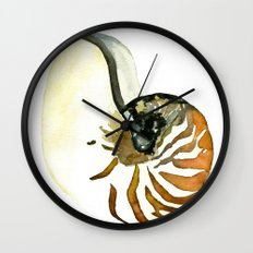 Ocean Treasures No. 3 Seashell Wall Clock