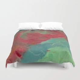 Lonely Monk Duvet Cover