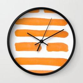 Joy - I Ching - Hexagram 58 Wall Clock