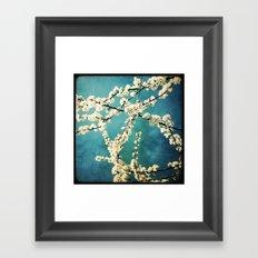 Waiting for Spring to Bloom Framed Art Print