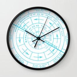 Stormy North Wall Clock