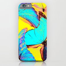 Shiny and colorful butterflies Slim Case iPhone 6s