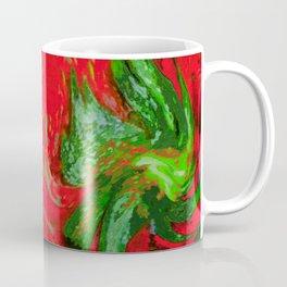 Strawberry Fruit Art Deco Coffee Mug