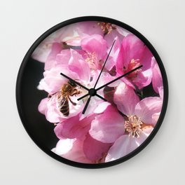 The taste of Spring Wall Clock