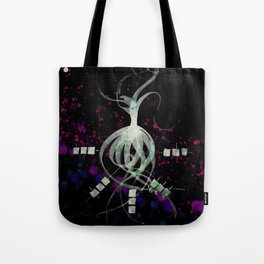 A Tarot of Ink Major Arcana XXI The World Tote Bag