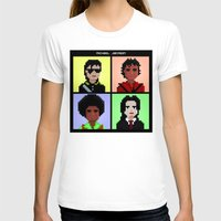 michael jackson T-shirts featuring Michael Jackson History  by Pixel Faces
