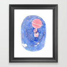 starry night Framed Art Print