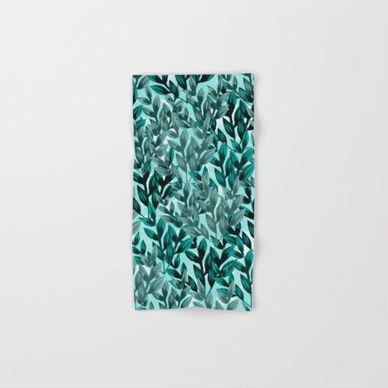 Leaf pattern II Hand & Bath Towel