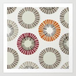 Circles 1 - Big Art Print