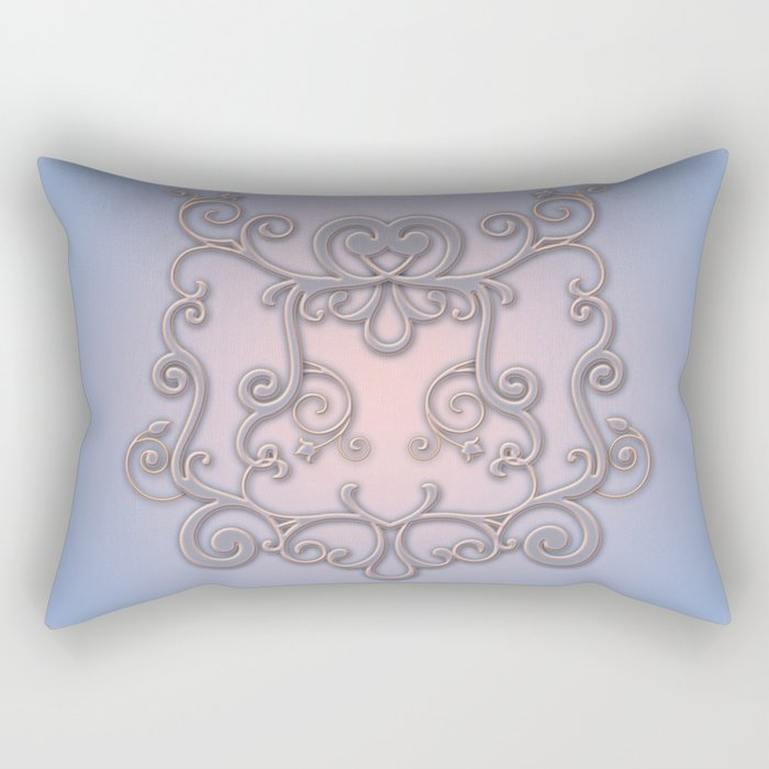 Rose Quartz Serenity Enblem Rectangular Pillow