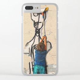 Shepard Fairey Wannabe Clear iPhone Case
