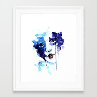 ultraviolence Framed Art Prints featuring Ultraviolence by Alexandra-Emily Kokova