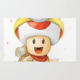Captain Toad Rug
