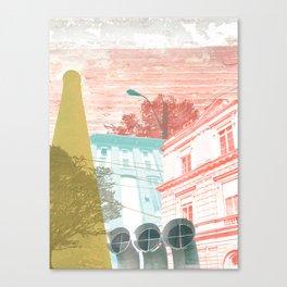 City exploring Canvas Print